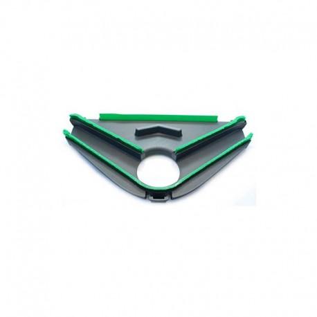 Piastra con setole HD60