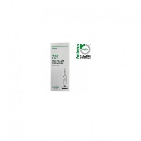 FP200 filtrelli per VK200